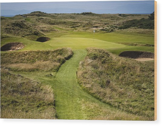 The Postage Stamp - Royal Troon Golf Course Wood Print