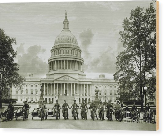The Presidents Club Wood Print