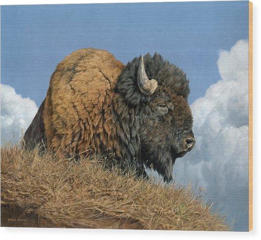 Thunder Beast Wood Print