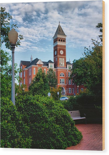 Tillman Hall Wood Print