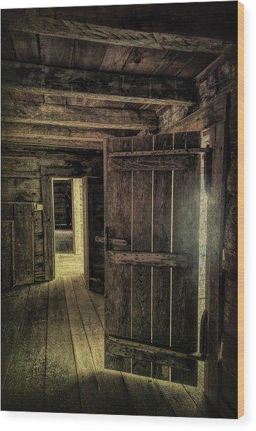 Tipton Cabin Wood Print
