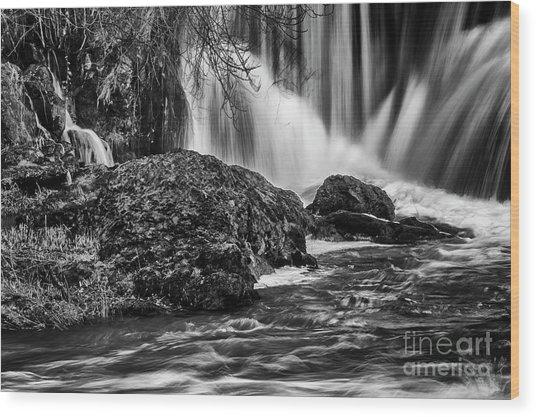 Tumwater Falls Park#1 Wood Print