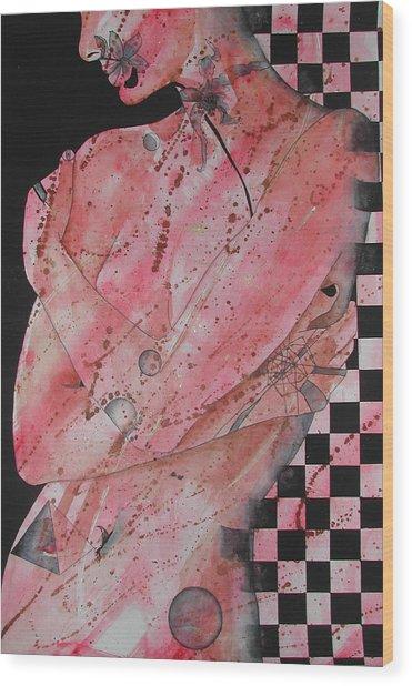 Universe Wood Print by Rebecca Tacosa Gray