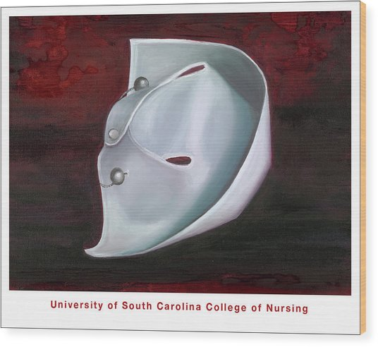 University Of South Carolina College Of Nursing Wood Print