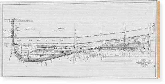 Valuation Map Boct Wood Print