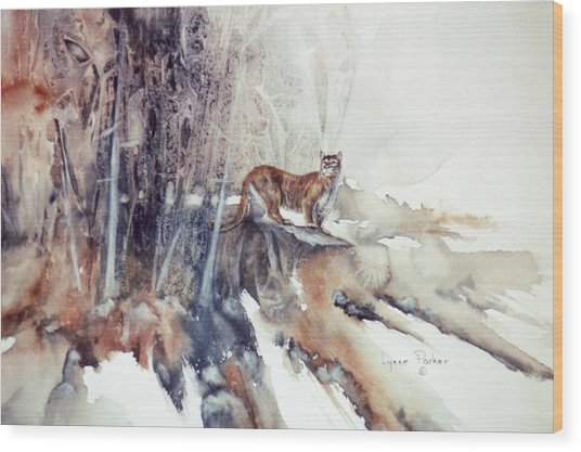 Vantage Point Wood Print by Lynne Parker