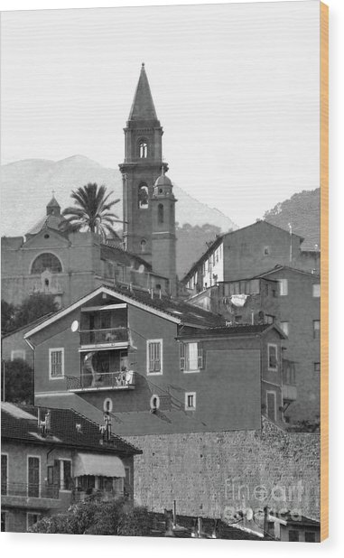 Ventamiglia Wood Print
