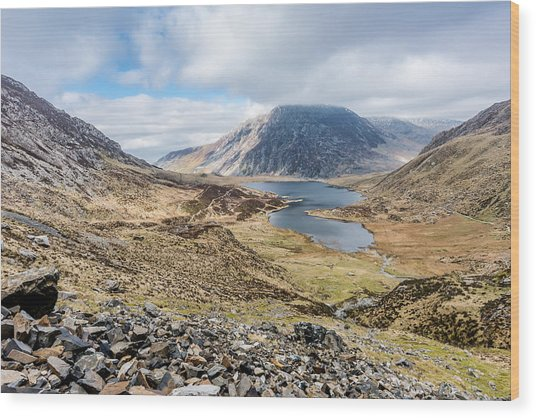 View From Glyder Fawr Wood Print