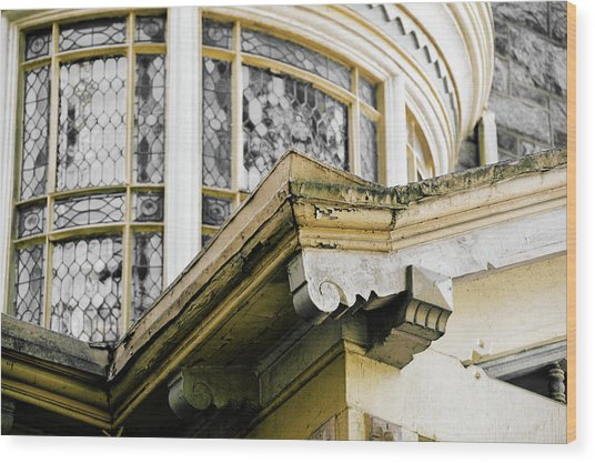 Vintage Architecture Wood Print by JAMART Photography