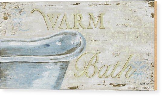 Warm Bath 2 Wood Print