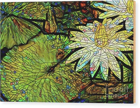 Waterlilies 9 Wood Print