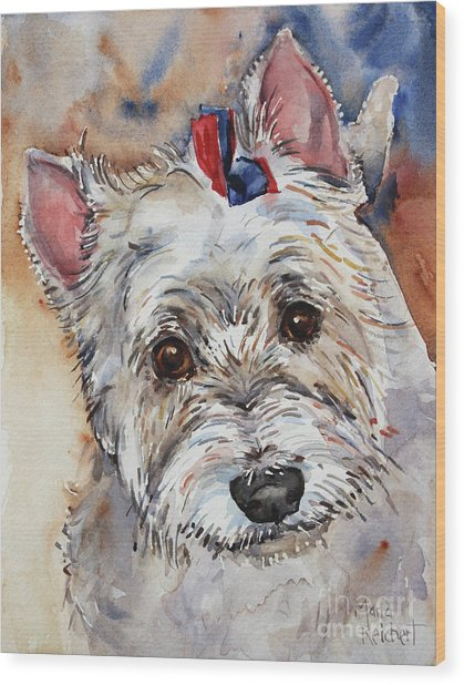 West Highland Terrier Wood Print