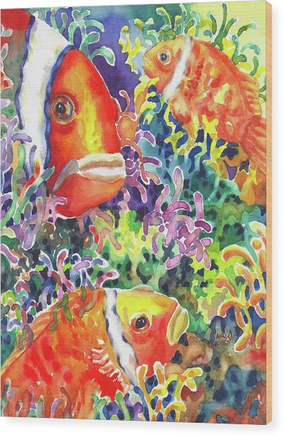 Where's Nemo I Wood Print
