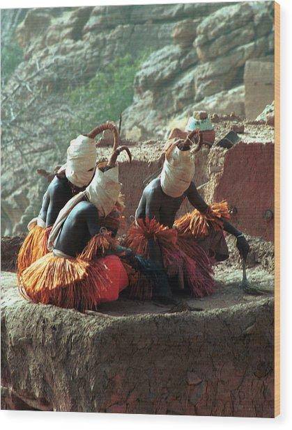 Yougo Dogorou 1986 Wood Print by Huib Blom