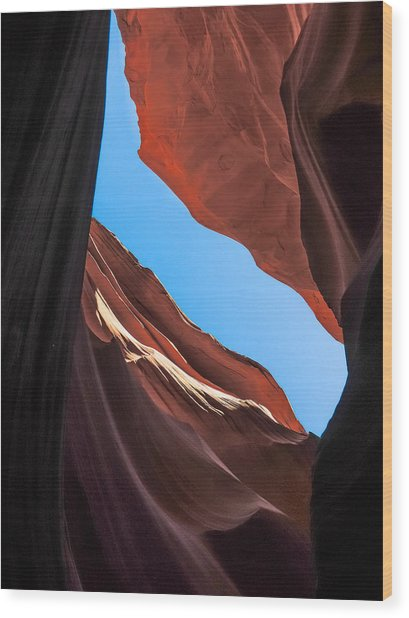 Lower Antelope Canyon Navajo Tribal Park #11 Wood Print