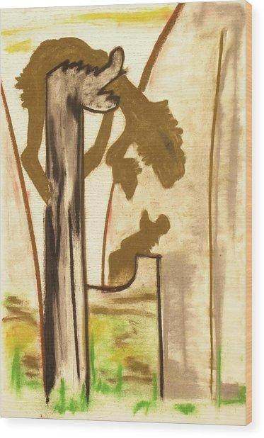 1001 Wood Print