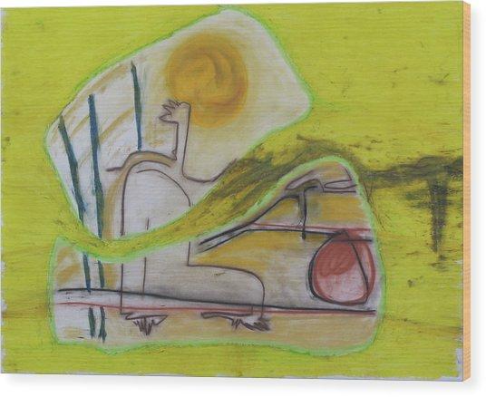1011 Wood Print