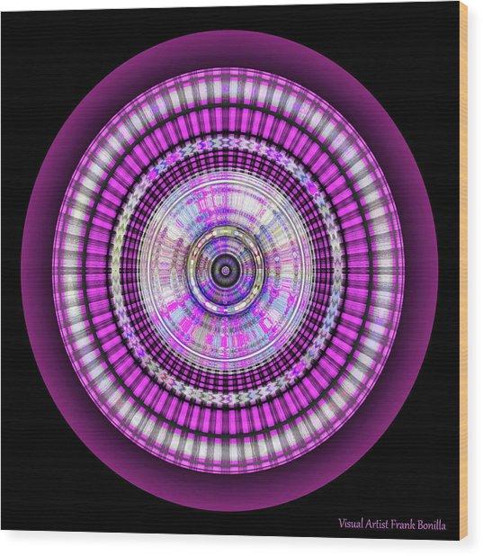 Wood Print featuring the digital art 102920171 by Visual Artist Frank Bonilla