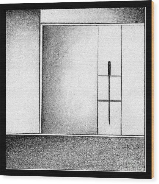 . Wood Print by James Lanigan Thompson MFA