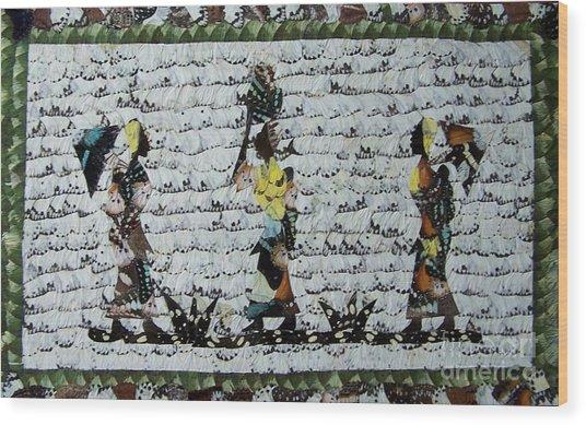Butterfly Wings Wood Print by Ayhan Yilmaz
