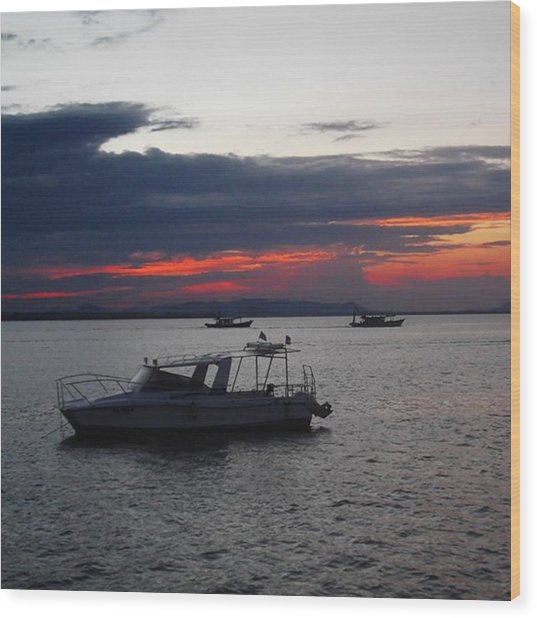 #10yearsoftravel Another Amazing Sunset Wood Print by Dante Harker