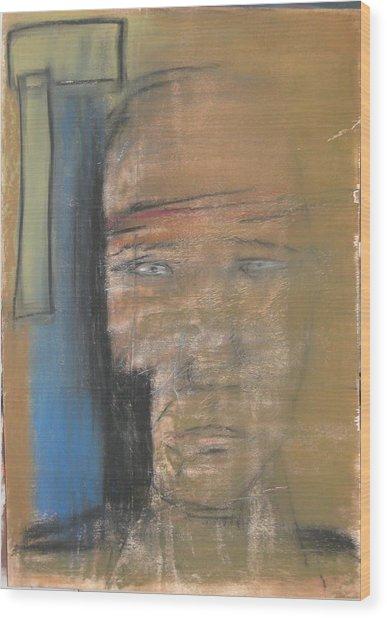 117 Wood Print