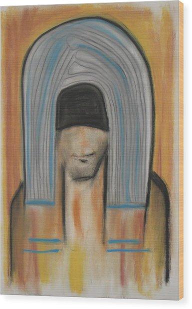 118 Wood Print