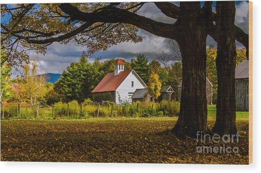 New England Photography 2016 Calendar.  Wood Print