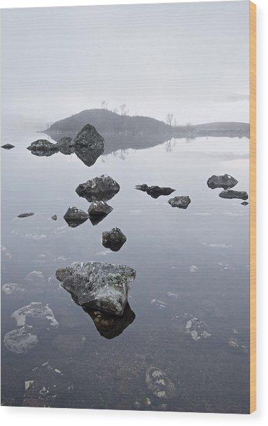 Lochan Na H-achlaise Wood Print