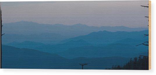 Panoramic Fine Art Prints Wood Print