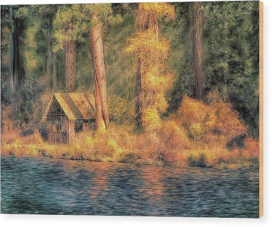 Metolius Autumn Wood Print