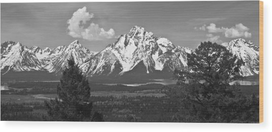 Wyoming Wood Print