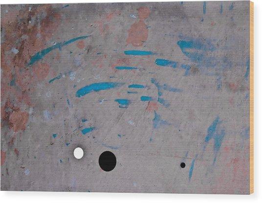 Abstract 80 Wood Print