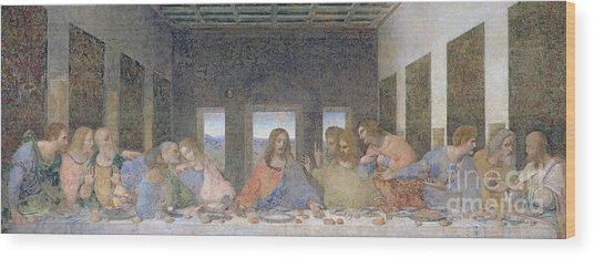 The Last Supper Wood Print