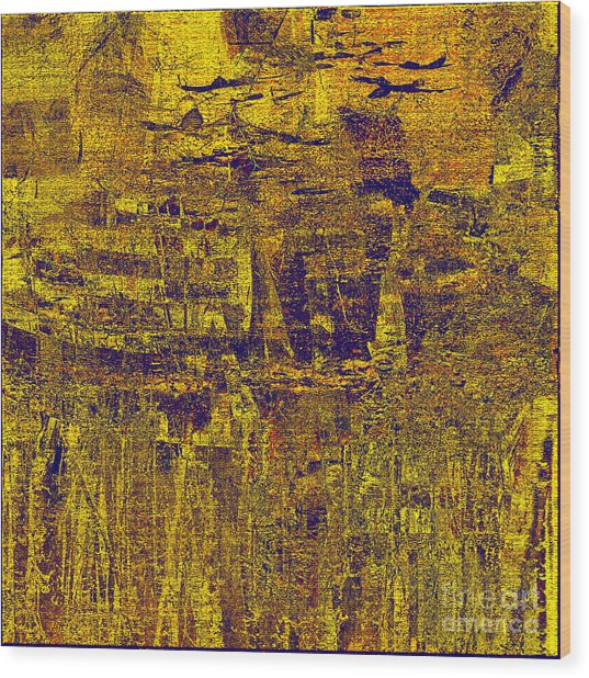 1748 Abstract Thought Wood Print