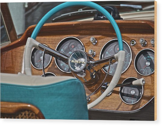Classic Riva Wood Print