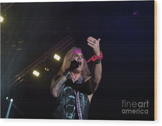 Steel Panther  Wood Print