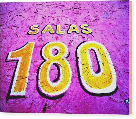 180 Santiago Pinked  Wood Print