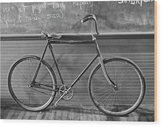 1895 Bicycle Wood Print