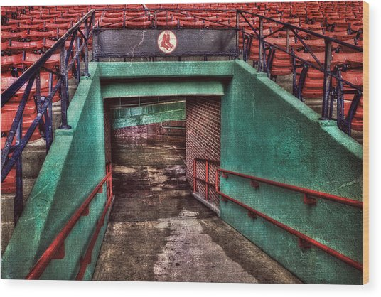 1912 - Fenway Park - Boston Wood Print