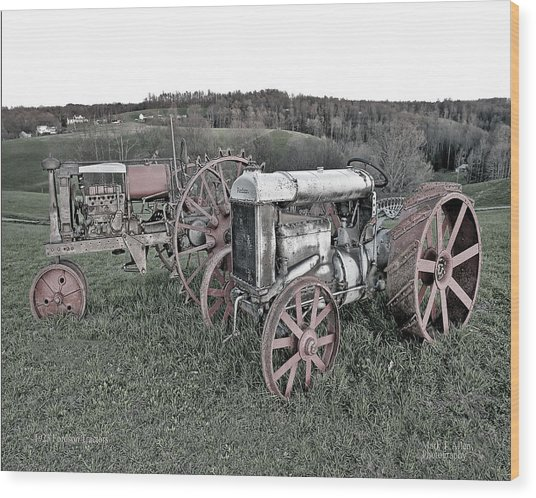 1923 Fordson Tractors Wood Print
