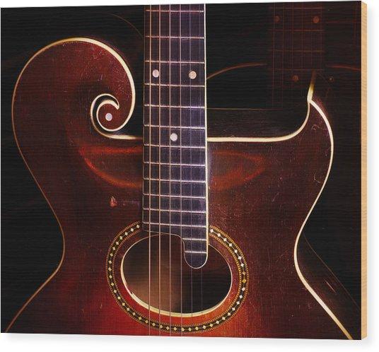 1923 Gibson Wood Print