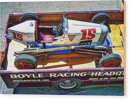 1927 Miller 91 Rear Drive Racing Car Wood Print