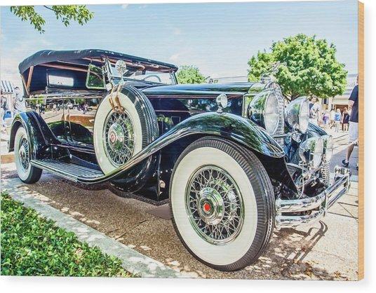 1931 Packard Wood Print