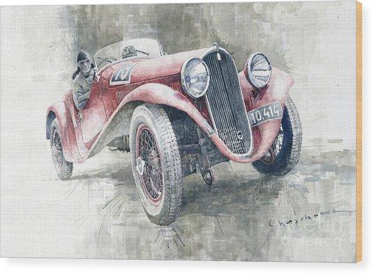 1934 Walter Standart S Jindrih Knapp 1000 Mil Ceskoslovenskych Winner  Wood Print