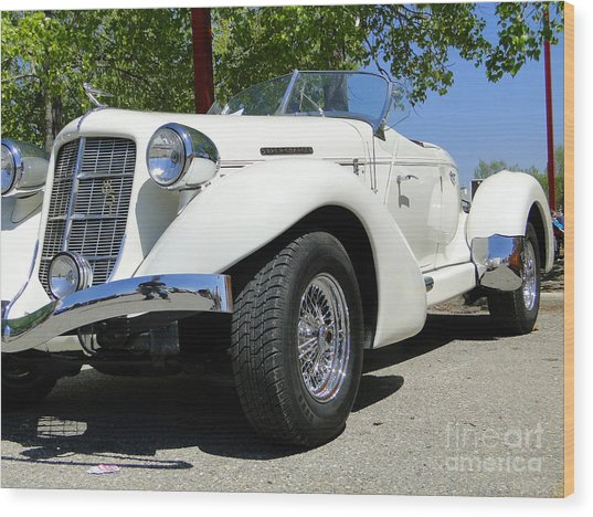 1935 Auburn 851 Boattail Speedster Wood Print