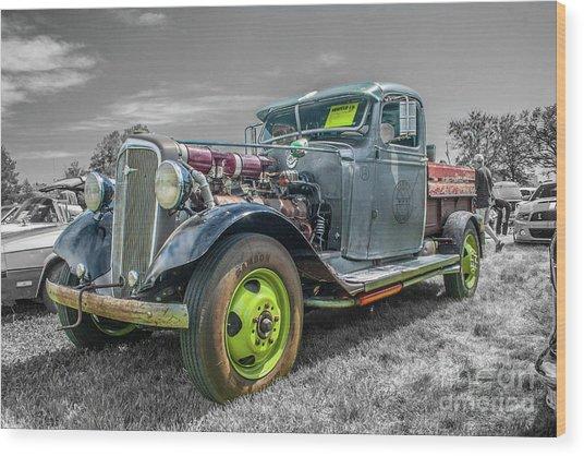 1936 Chevrolet Wood Print