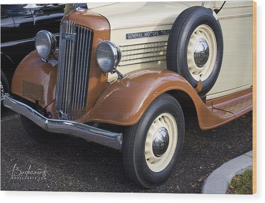 1936 Gmc Pickup Truck 1 Wood Print