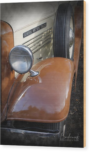 1936 Gmc Pickup Truck 2 Wood Print