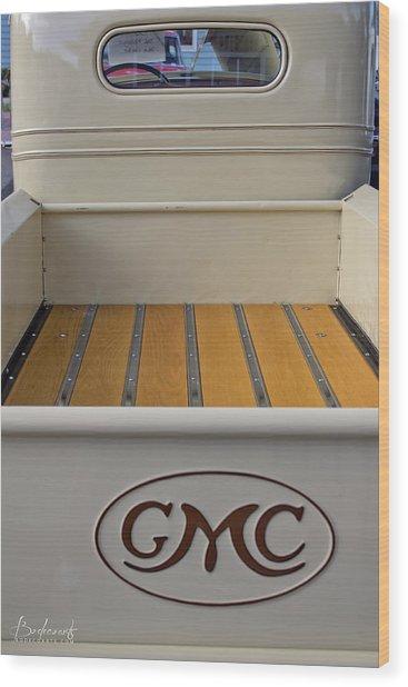 1936 Gmc Pickup Truck 4 Wood Print